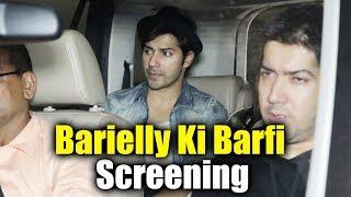 Varun Dhawan At Bareilly Ki Barfi Movie Screening
