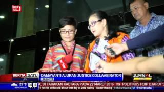 Damayanti Ajukan Justice Collaborator Saat Diperiksa KPK