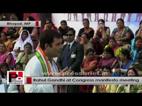 Rahul Gandhi- Every single woman should feel that she is empowered
