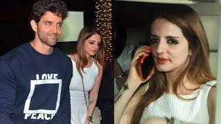 Ex-Wife Sussanne At Hrithik Roshan's Birthday Party 2017