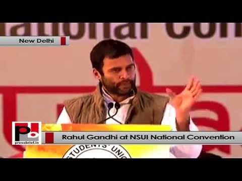 Rahul Gandhi- We never promote anger