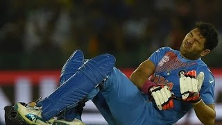 Yuvraj Singh Ruled Out of T20 World Cup Due to Injury, Manish Pandey Comes In - Sports News Video