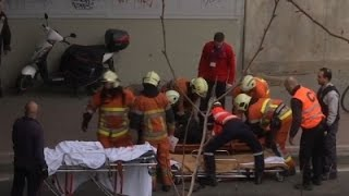 Raw- Explosion in Brussels Metro Station News Video