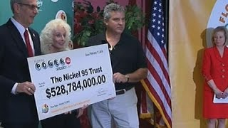 Fla. Couple Claims Share of Historic Powerball News Video