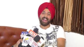 Hai Tujhe Salaam India Interview  On Shoot  Actor Kanwal Preet Singh