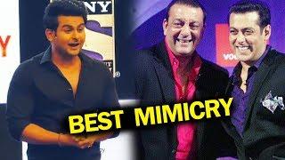 Sanket Bhosale's BEST MIMICRY On Salman Khan & Sanjay Dutt