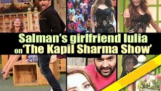 Salman Khan Girlfriend Iulia Vantur on The Kapil Sharma Show with Himesh Reshammiya
