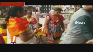 Guru Pournami Special   Devotees Rush At Sai Baba Temples In Dilsukhnagar   Hyderabad   iNews