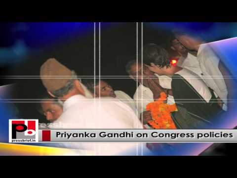 Young and Charismatic Priyanka Gandhi Vadra - genuine mass leader
