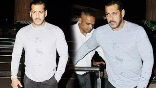 Salman Khan LEAVES Ganesh Visarjan Midway And Leaves For Tiger Zinda Hai Shooting