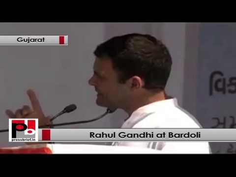 Rahul Gandhi- BJP leaders promised welfare of Adivasis but did nothing