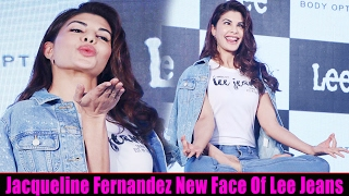 Jacqueline Fernandez in Naughty Mood at Launch Of LEE