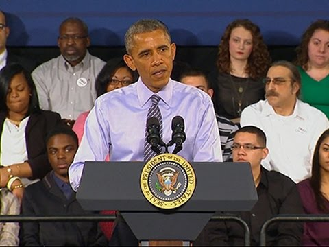 Obama Touts Community College Plan at Town Hall News Video