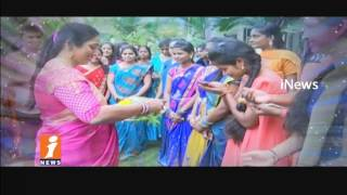 College Students Celebrates Ugadi Festival | iNews