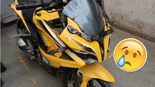 MY NEW BIKE ACCIDENT ????????