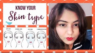 How To Know Your Skin Type | How To Check Your Skin Type - DRY, NORMAL, OILY or COMBINATION