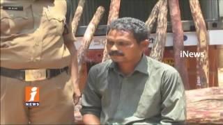 Chittoor Police Arrest Red Sandal Smugglers In Tamil Nadu | iNews