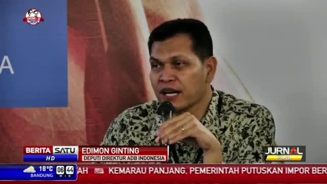 ADB Proyeksikan Ekonomi Indonesia Tahun 2015 Mencapai 4,5 Persen