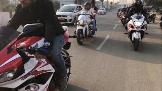 xBHP ride in Hyderabad | #hijabibiker
