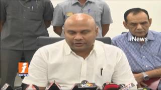 AP Minister Sujay Krishna Ranga Rao Review Meet on Sand Mining   iNews