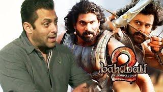 Salman Khan Behind Bhallaladeva Rana Daggubati In Baahubali 2