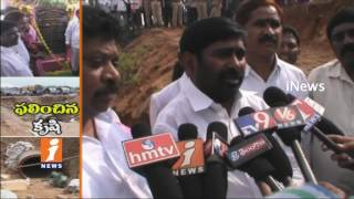 Minister Jagadish Reddy Lay Foundation Stone For Pipe Jacking System In Darmapuram | iNews