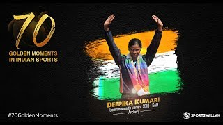 Deepika Kumari - Commonwealth Games, 2010 - Gold | 70 Golden Moments In Indian Sports