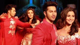 Varun Dhawan & Alia Bhatt's DANCING Ramp Walk For Sandeep Khosla | CPAA