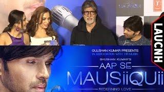 Amitabh Bachchan Launch Himesh Reshammiya & Iulia Vantur's Music Album Aap Se Mausiiquii