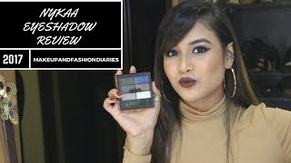 NEW NYKAA EYESHADOW PALETTE, FOUNDATION, LINER, KAJAL REVIEW
