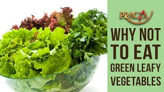 Why You Shouldn't To Eat Green Leafy Vegetables In Monsoons | Dr. Vibha Sharma
