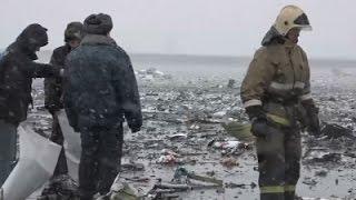 Raw- Emergency Crews Examine Russia Crash Site News Video
