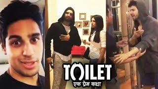 Ranveer, Sidharth & Varun Supports Akshay Kumar's Toilet Ek Prem Katha