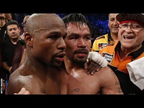 Manny Pacquiao blames shoulder injury for loss to Floyd Mayweather News Video