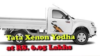 Tata Xenon Yodha pick up launched at RS  6 05 Lakhs II RECTVINDIA