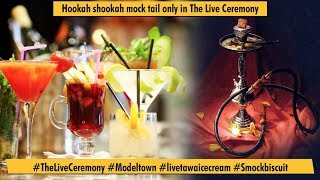 Hookah shookah mock tail only in The Live creamery