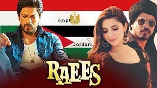 Shahrukh Khan's RAEES Releases In Egypt & Jordan
