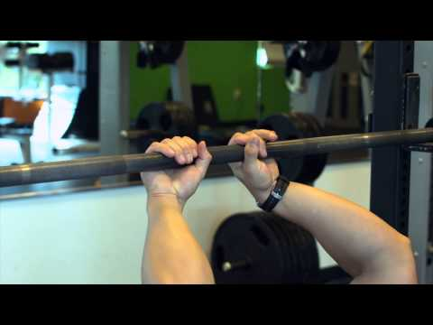 Where to Hold the Barbell for a Close Grip - LS - Training & Lifting Weights