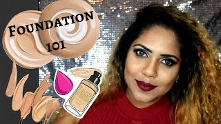 SINHALA MAKEUP FOUNDATION TUTORIAL (SRI LANKAN)