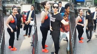 Gorgeous Kareena Kapoor SPOTTED Outside Gym - Watch Video