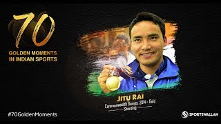 Jitu Rai - Commonwealth Games, 2014 - Gold | 70 Golden Moments In Indian Sports