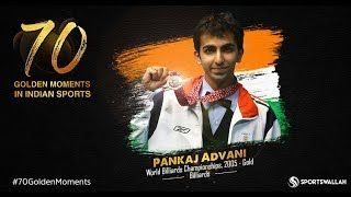 Pankaj Advani - World Billiards Championships, 2005 - Gold | 70 Golden Moments In Indian Sports