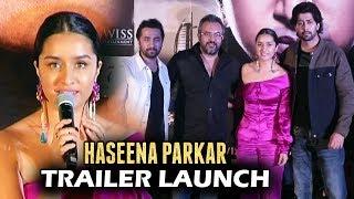 Haseena Parkar Trailer Launch - Shraddha Kapoor, Siddhanth Kapoor
