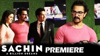Aamir Khan At Sachin A Billion Dreams GRAND PREMIERE