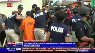 3 Pelaku Pembunuhan Karyawati Pabrik di Tangerang Jalani Rekonstruksi