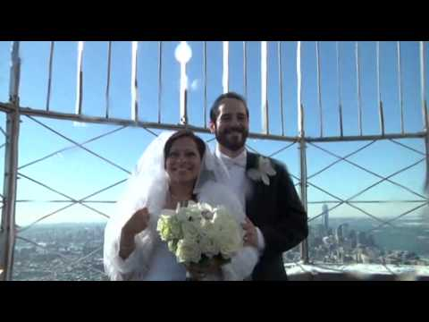 Couples Marry at Empire State Building News Video