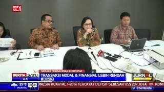 Neraca Pembayaran Kuartal I 2016 Defisit US$ 287 Juta