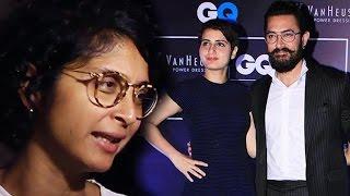 Wife Kiran Rao OPENS On Aamir Khan & Fatima Rumours
