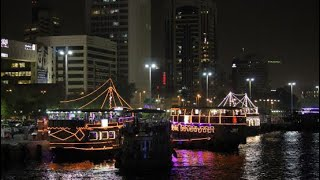 Dubai abra - a night ride