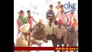 mukerian gurdaspur highway par accident mein do ki maut | truck bana maut ka kaaran